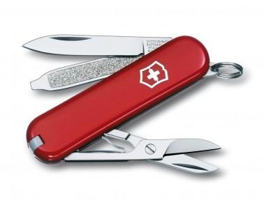Victorinox classique polyvalente couteau 58mm rouge