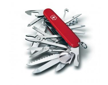 91mm Victorinox couteau de poche SwissChamp rouge